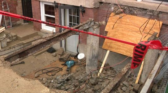 53-year-old man killed after portion of vaulted sidewalk collapses