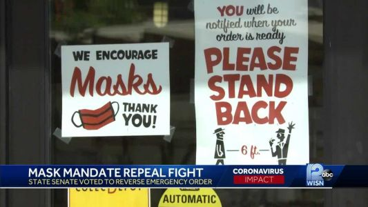 Wisconsin Republicans ready to repeal state mask mandate