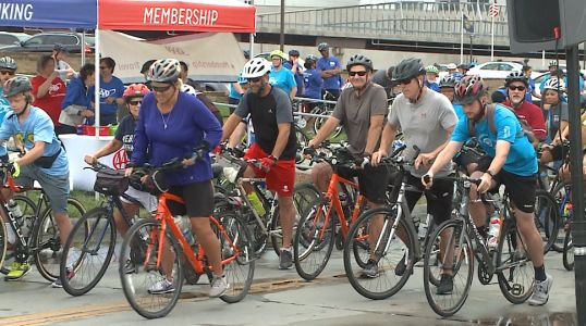 Thousands participate in Corporate Cycling Challenge