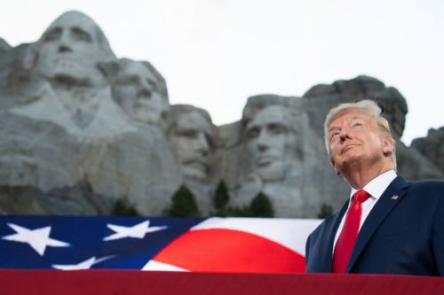 S.D. Gov. Noem Says She Gifted Trump A Bust With His Face On Mount Rushmore