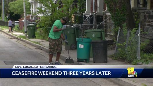 Baltimore celebrates third anniversary of ceasefire weekends