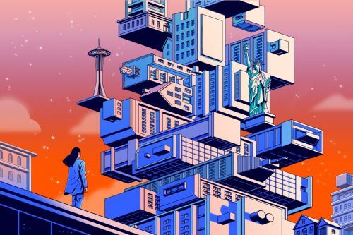 Covid reshuffled the geography of work and home. American cities will never be the same