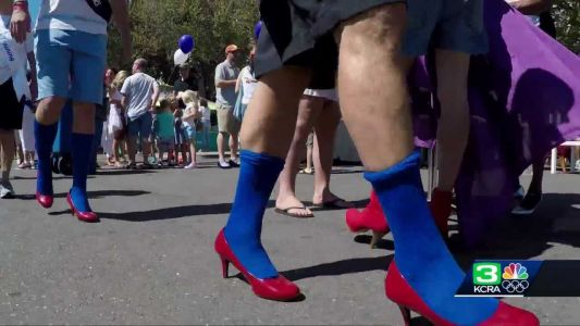 Sacramentans strap on high heels to raise money for WEAVE