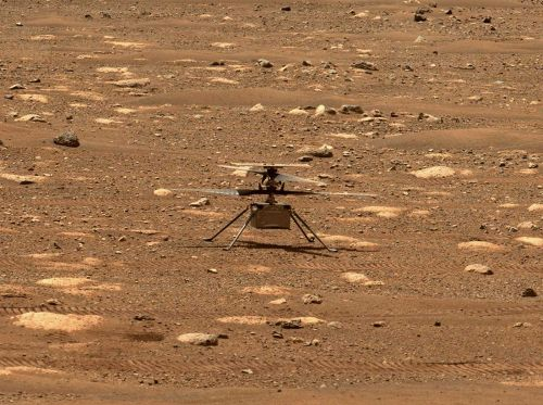 'A wonderful opportunity': Mars helicopter historic flight could happen on Monday