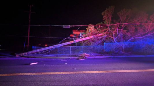 Hundreds of customers without power in Marina; Restoration estimated for Thursday morning