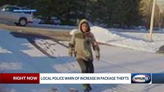 Police warn package thefts are on rise