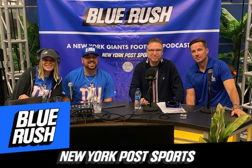 'Blue Rush' Podcast Episode 80: Giants-Rams Postgame Live Show from Victory Sports Bar