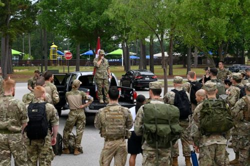 Royal Danish Air Force brings deployment tradition to Shaw AFB