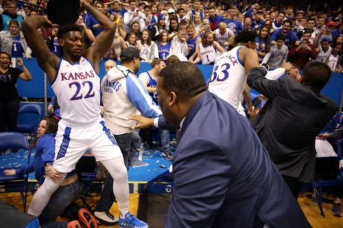 No. 3 Kansas suspends Silvio De Sousa indefinitely after brawl at basketball game