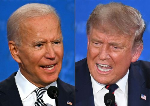 Biden drew 2.3 million more viewers than Trump, according to early ratings from town halls