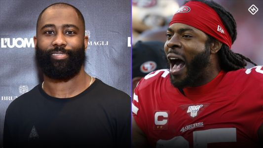 Darrelle Revis says Richard Sherman plays scared in 49ers' pass defense