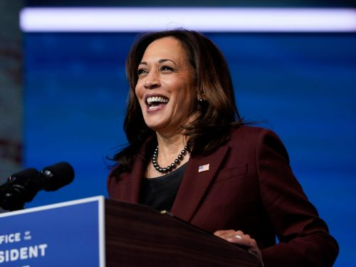 Kamala Harris said she and Biden won't 'yield to those who would try and make us afraid' days ahead of being sworn into office outside of US Capitol