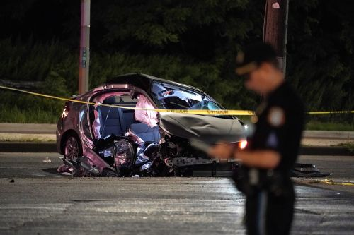 Two killed, including 12-year-old, in violent NYC crash