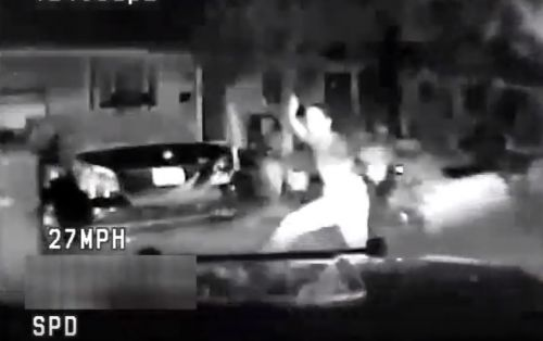 Sacramento PD releases video of police SUV hitting teen