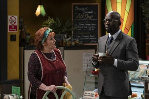 Stream It Or Skip It: 'Kate & Koji' On BritBox, A Good Old-Fashioned Britcom About A Crusty Cafe Owner And An Asylum-Seeking Doctor's Friendship