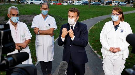 France becomes 2nd W. European state to hit 1mn Covid cases, as Macron warns we'll live with the virus till next summer