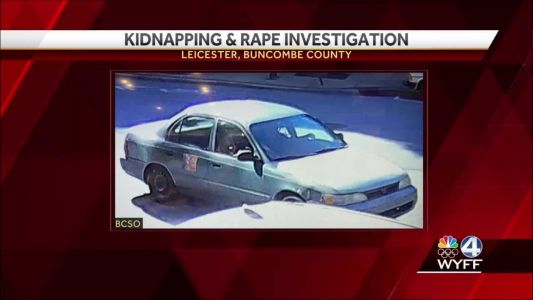 Buncombe County deputies searching for person of interest in kidnapping, rape