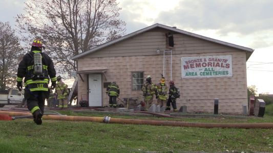 Fire breaks out at cemetery in Beaver County