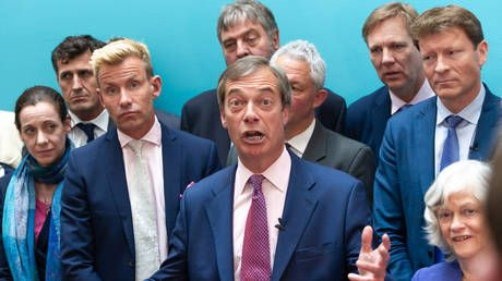 Who are they? Farage refuses to name 100 new Brexit Party candidates, sparking vetting concerns