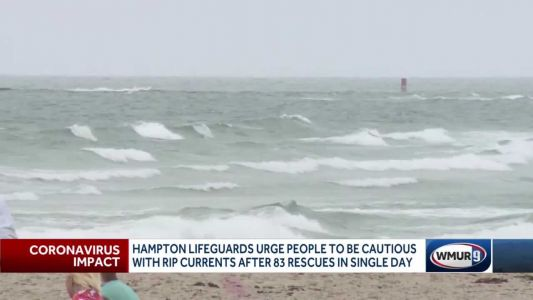 Hampton lifeguards urge people to be cautious while in water this weekend