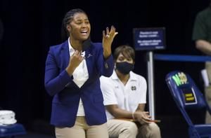 Notre Dame women give Ivey her first head coaching win