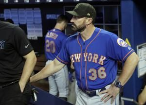 Callaway stays; Cespedes takes fall, breaks ankle on ranch