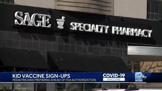Pharmacies open vaccine sign up for kids 12 to 15 ahead of FDA approval