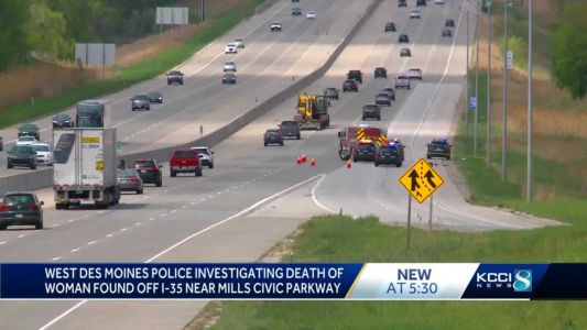Police identify woman found dead off the shoulder of Iowa interstate