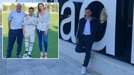 'Happy and proud': Son of late footballer Jose Antonio Reyes inks deal with Real Madrid