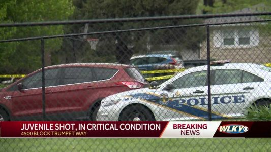 Juvenile in critical condition after shooting in southwest Jefferson County