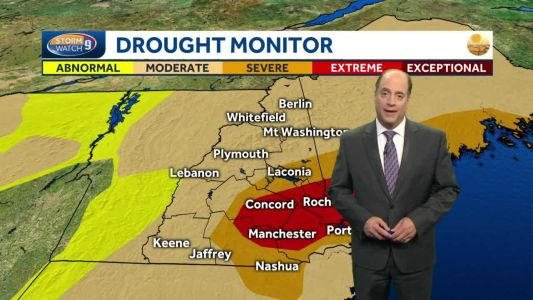 Update: Recent rain brings some drought relief