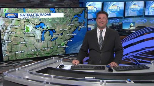 Watch: Sun, clouds as cooler air moves in