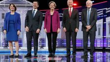 Candidates Kick Off Fifth Democratic Debate By Addressing Impeachment Hearings