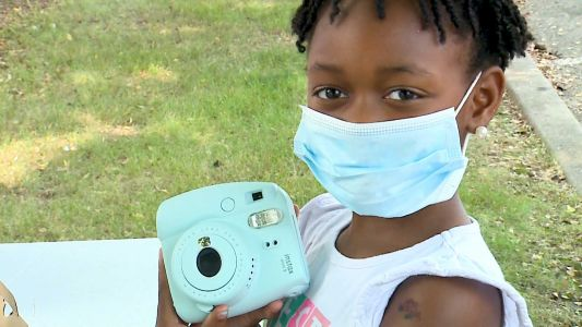 How Louisville kids capture history through The Polaroid Project