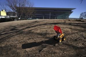 AP PHOTOS: Postponed Tokyo Olympics to open in just 6 months