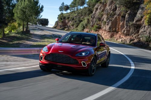 Aston Martin just unveiled its $189,000 DBX SUV in China. Here's a closer look