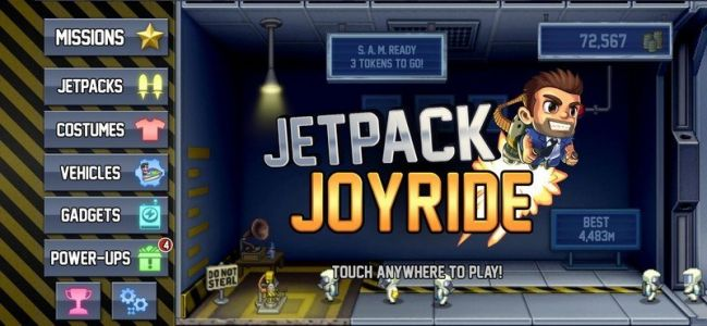 Jetpack Joyride is now available in Apple Arcade and it's awesome