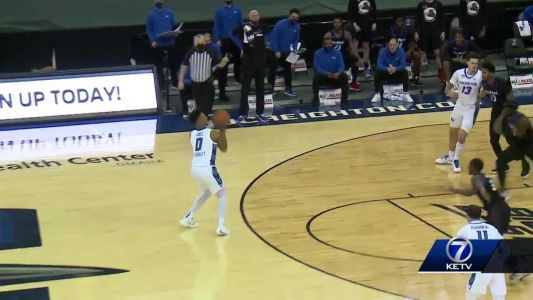 No. 13 Creighton comes off layoff with 77-53 win over DePaul