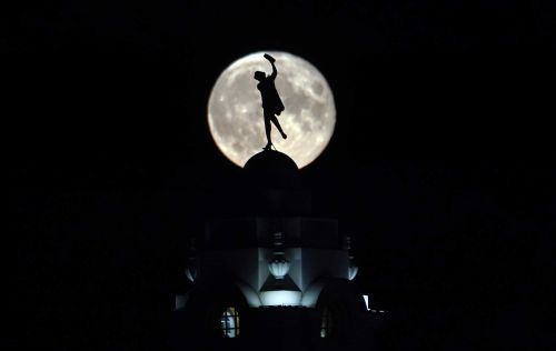 July's full 'buck' moon will light up the sky tonight. Here's when to watch