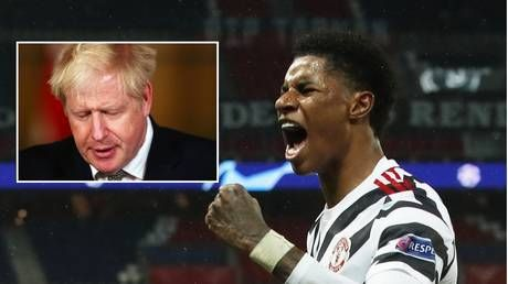 'Putting the government to shame': Marcus Rashford hailed as he pursues free meals for kids despite MPs' refusal to back plan