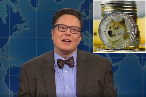 Dogecoin took a dive during Elon Musk's 'SNL' hosting gig