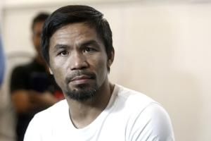Pacquiao, Matthysse make weight for welterweight title fight