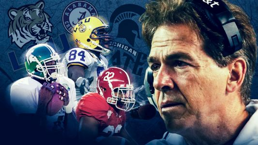 All-time Nick Saban-coached team, from Tua Tagovailoa to DeVonta Smith