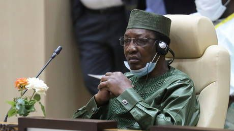 Chadian president dies from frontline injures just after being re-elected to 6th term - army