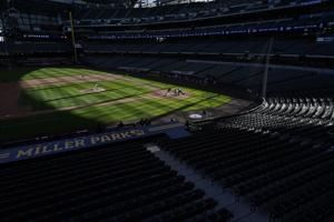 Brewers have 3 positive COVID tests at alternate site