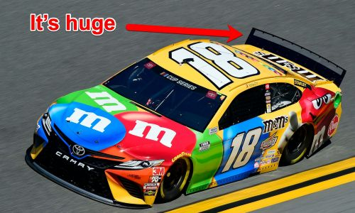 Dale Earnhardt Jr is not a fan of NASCAR's humongous spoilers and believes they helped cause Ryan Newman's scary Daytona 500 wreck