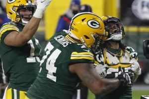 Packers' offensive line still rolling even without Bakhtiari