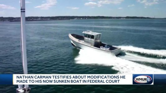 Nathan Carman testifies about modification he made to boat