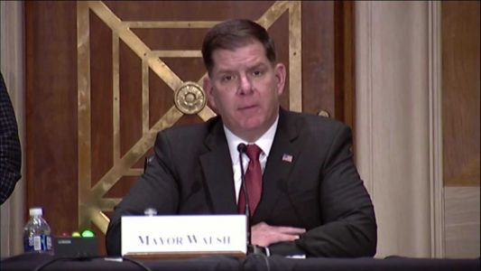 Watch Live: Marty Walsh confirmation hearing for Labor Secretary before Senate committee