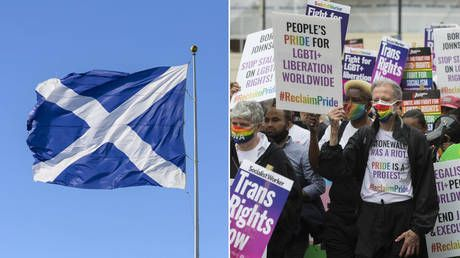 Britons puzzled how dropping word 'mother' from policy doc made Scotland a darling of top LGBT+ group whose own site uses the word